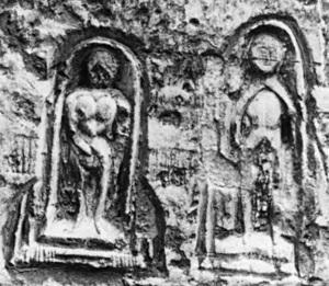 Graffiti protecteur , XVIe-XIXesiècles, église Saint-Pierre, Senlis