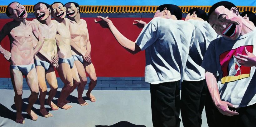 The Execution, huile sur toile, 150x300 cm, 1995, collection particulière
